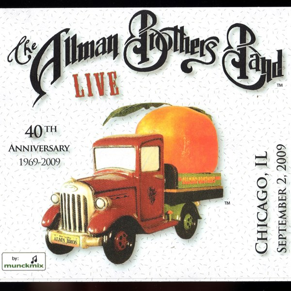 Live 2009 Tour - Chicago,IL Sept. 2, 2009 THE ALLMAN BROTHERS BAND