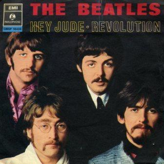 single: Hey Jude / Revolution THE BEATLES